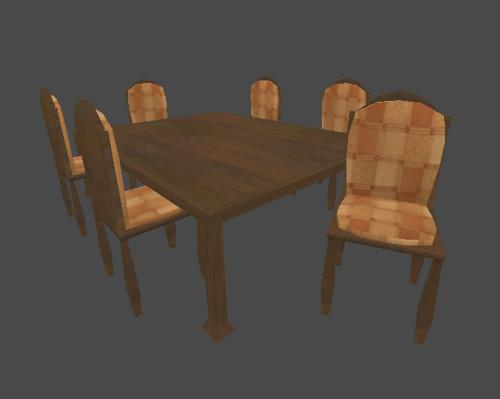 Old Style Table And Chair Set preview image