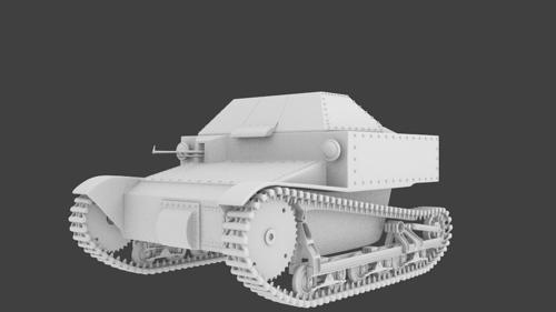 T-27 Tank preview image