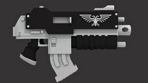 Space Marine Bolter preview image