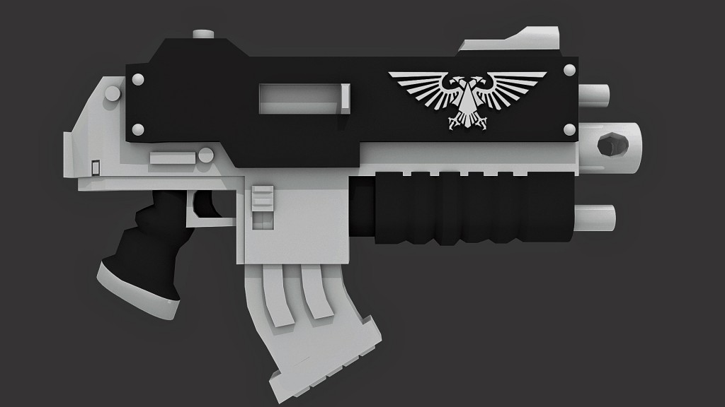 Space Marine Bolter preview image 1