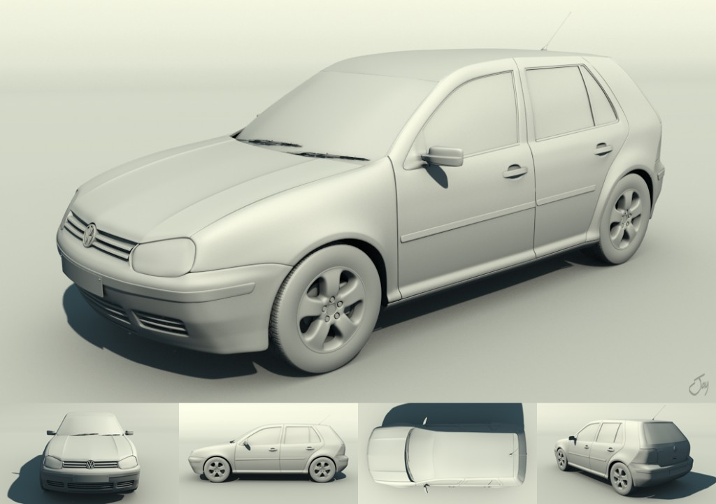 Volkswagen VW Golf MK4 (1.4 Petrol) preview image 1
