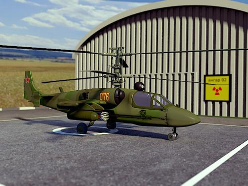 KA-52 Helicopter preview image