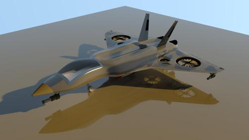 X-309 Experimental Multi-role Fighter Jet preview image