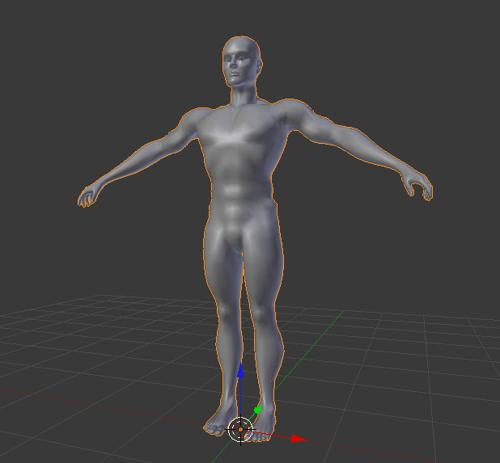 Base Male Mesh preview image