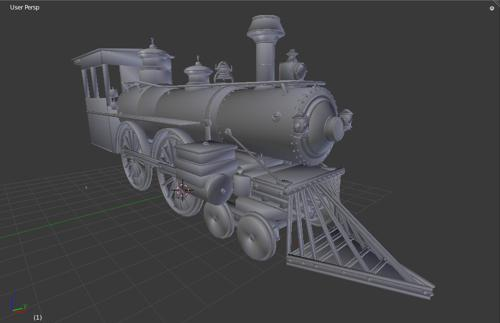 Primitive Train preview image