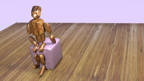 Wood Boy + Simple Rig preview image