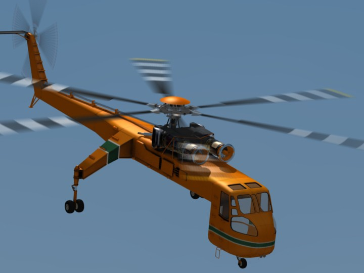 Skycrane Helicoptere preview image 1