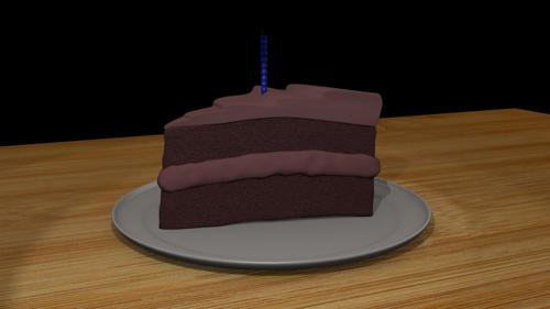 Slice Of Chocolate Cake preview image