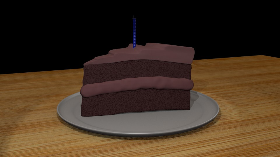 Slice Of Chocolate Cake preview image 1