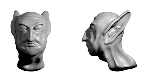 Sculpted Head preview image