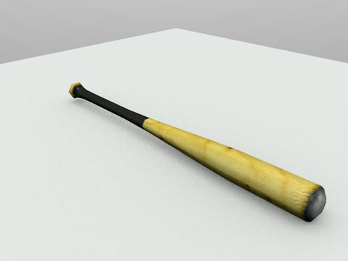 Baseball Bat (Low Poly) preview image