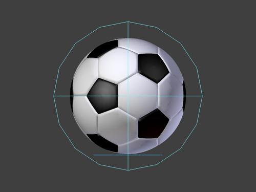 Soccer Ball With Easy Squash & Stretch Rig Control preview image