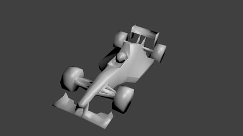 "Low Poly F1 ""Basic Series 007"" preview image"