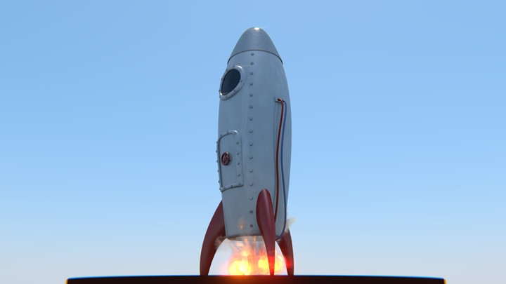 Retro Rocket preview image 1