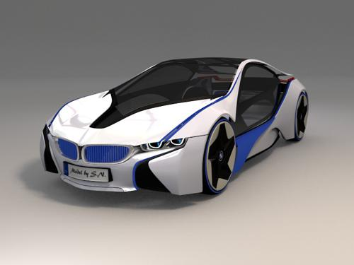BMW I8 Concept Car (no Finish Model) preview image