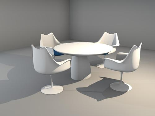 Design Chair And Table preview image