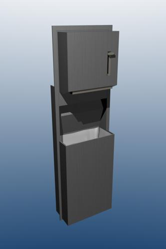 Trash And Paper Towel Holder preview image