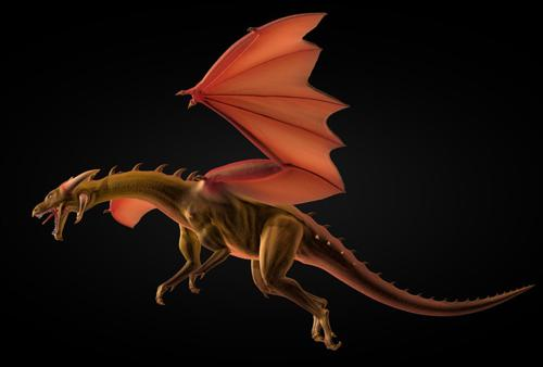 Dragon Rig And Textures preview image