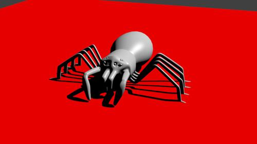 Spider With Rig preview image