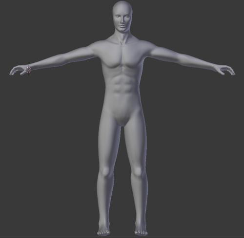Male Body preview image