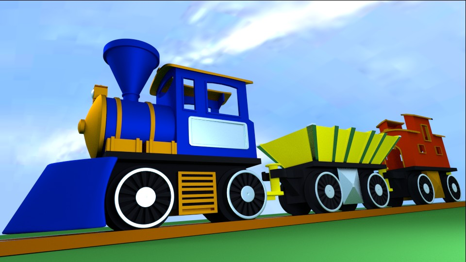 Toy Train preview image 1