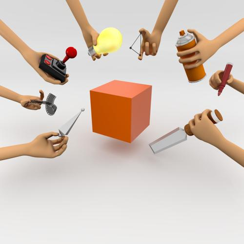 Hands Holding Objects preview image