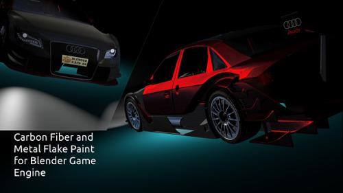 Car Paint And Carbon Fiber Materials For BGE preview image
