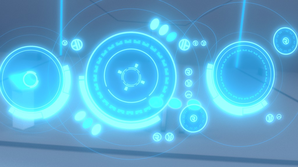 Umbaran Holographic UI preview image 1