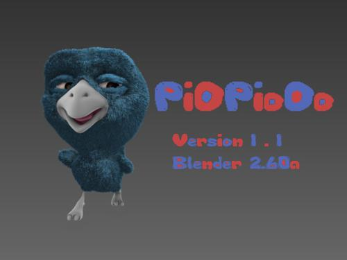PiOPioOo V1.1 2.60a Fully Rigged preview image