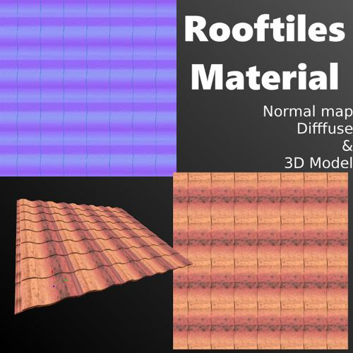 Rooftiles (Model & Material) preview image