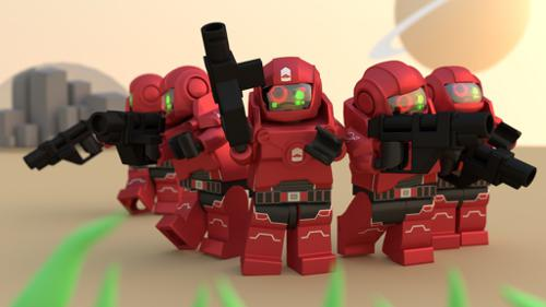 Lego Space Marines 2.0 preview image