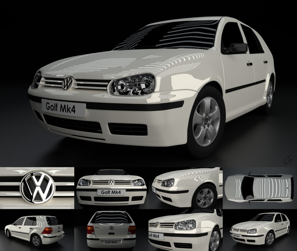 Volkswagen VW Golf MK4 - Cycles preview image 1