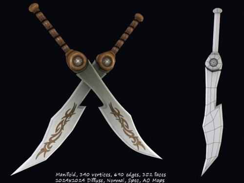 Tribal Long Sword preview image