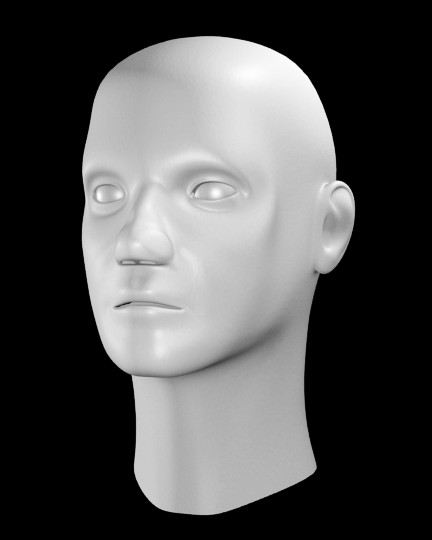 Human Head Male preview image 1