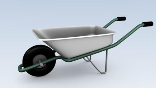 Metal Wheelbarrow preview image