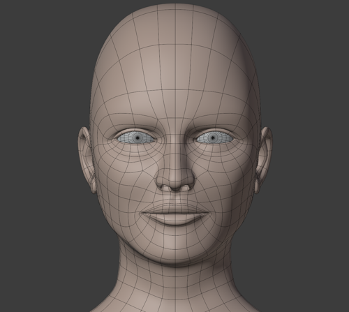 Head Base Mesh V1.2 preview image