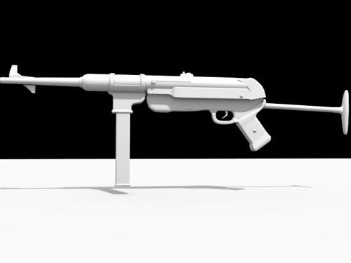 Mp40(Untextured) preview image