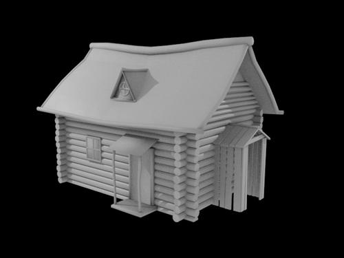 Old Log Cabin preview image