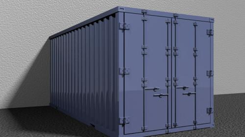 Shipping Container 20ft. preview image