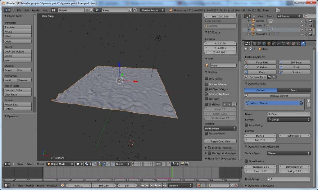 Blender Dynamic Examples preview image 1