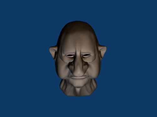 old elf head preview image
