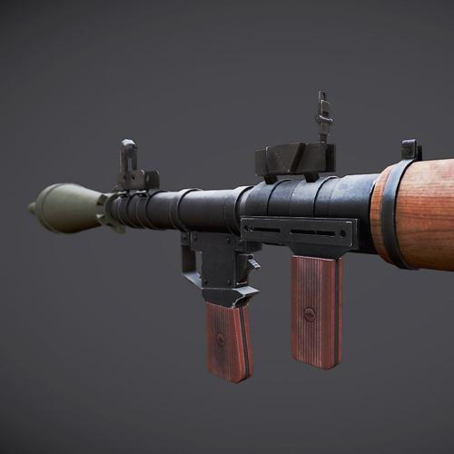 Lowpoly RPG-7 preview image