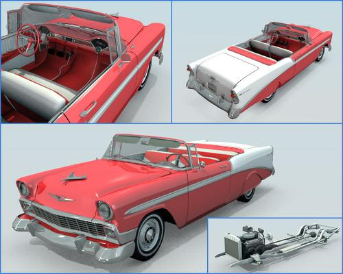 1956 Chevrolet Bel Air Convertible preview image