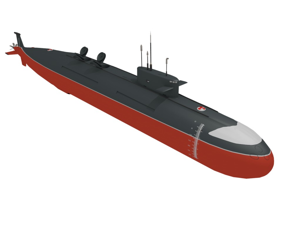 Nuclear Submarine INS Arihant preview image 1