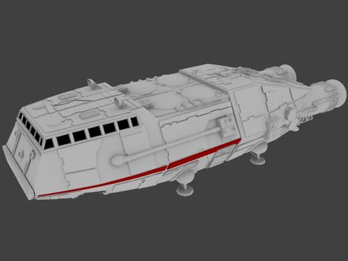 Battlestar Galactica Shuttle preview image
