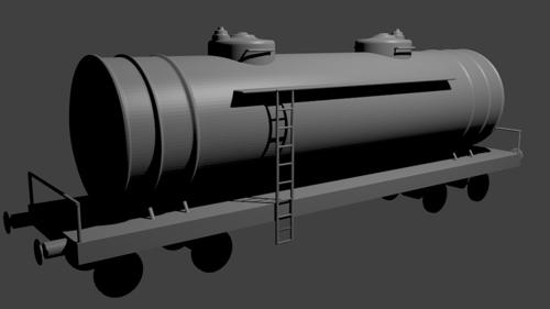 Train Fuel Tanker preview image