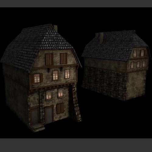 mediaeval house preview image