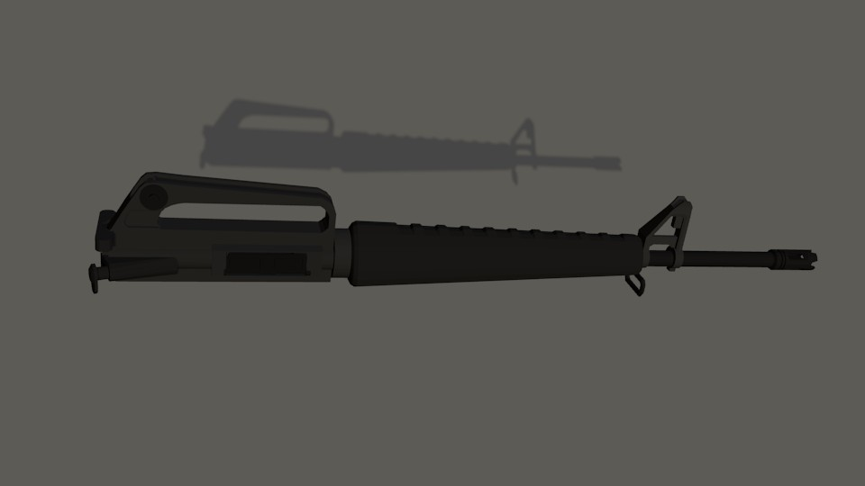 M16A1 Upper Receiver preview image 1