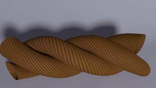 Rope  texture and application  preview image