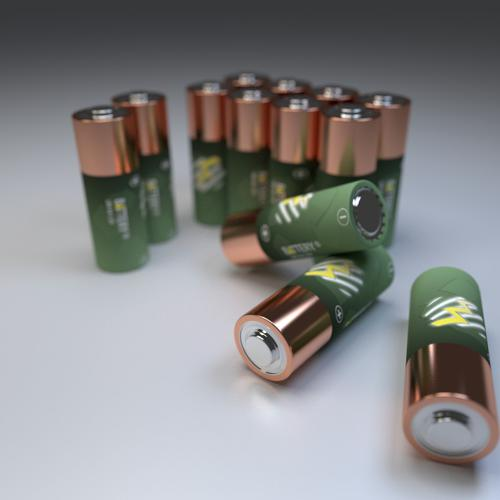 Realistic Batteries preview image